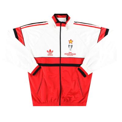 1990-91 AC Milan adidas Track Jacket *Mint* XL