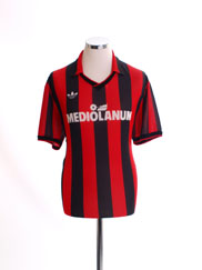 1990-91 AC Milan Home Shirt XL