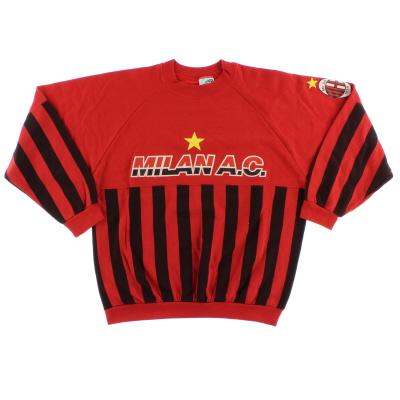 1990-91 AC Milan Sweatshirt L