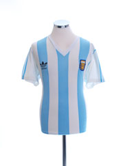 1992 Argentina Match Issue Home Shirt #14 (Cagna) v Wales M