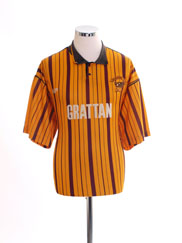 1990-91 Bradford City Home Shirt L
