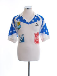 1990-91 Chemnitzer FC Away Shirt #7 L