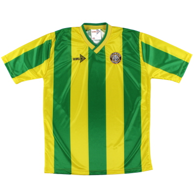 1990-91 Colchester Scoreline Away Shirt *Mint* L