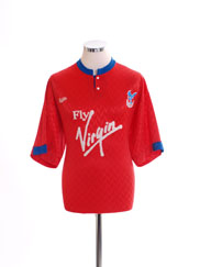 1990-91 Crystal Palace Third Shirt M