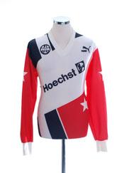1990-91 Eintracht Frankfurt Home Shirt #5 L/S L
