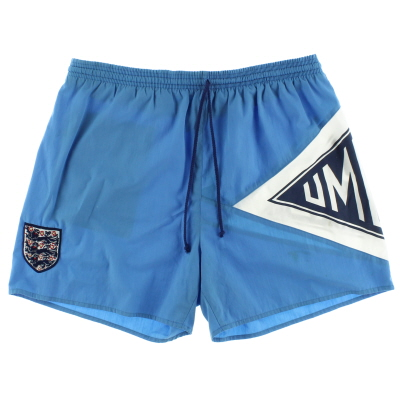 1990-91 England Umbro Swim Shorts L