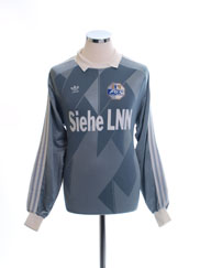 1990-91 FC Luzern Match Issue Goalkeeper Shirt L