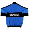 1990-91 Inter Milan Uhlsport 1/4 Zip Drill Top M