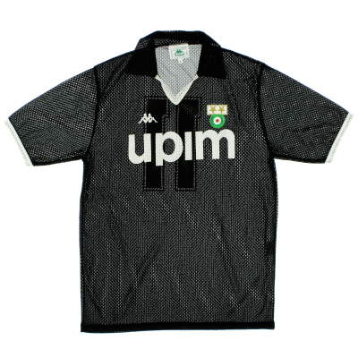 1990-91 Juventus Away Shirt #11 *Mint* L