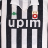 1990-91 Juventus Home Shirt #10 L/S S
