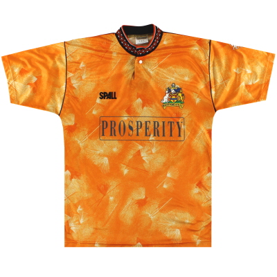 1990-91 Maidstone United Spall Home Shirt *Mint* Y