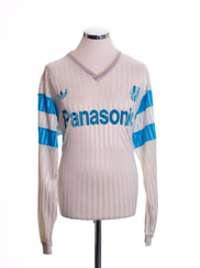 1990-91 Olympique Marseille Home Shirt L/S XL