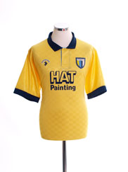 1990-91 Reading Away Shirt L
