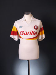 1990-91 Roma Away Shirt XL