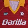1990-91 Roma Home Shirt XXL