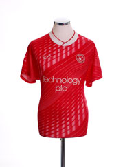 1990-91 Walsall Home Shirt M