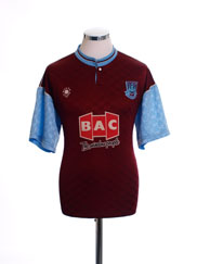 1990-91 West Ham Home Shirt *Mint* L