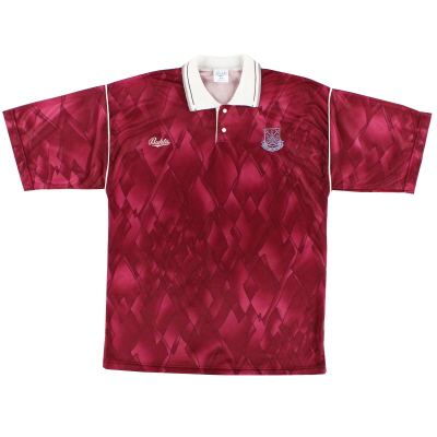 1990-91 West Ham United Bukta Leisure Shirt M