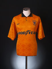 1990-91 Wolves Home Shirt M