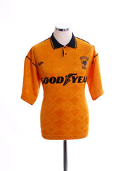 1990-91 Wolves Home Shirt S