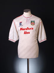 1990-91 Wrexham Away Shirt XL