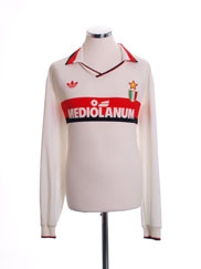 1990-92 AC Milan Away Shirt L/S XL