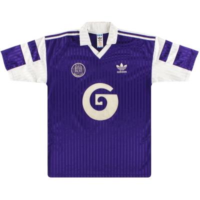 1990-92 Anderlecht adidas Away Shirt XL