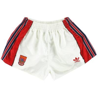 1990-92 Arsenal adidas Home Shorts *Mint* S