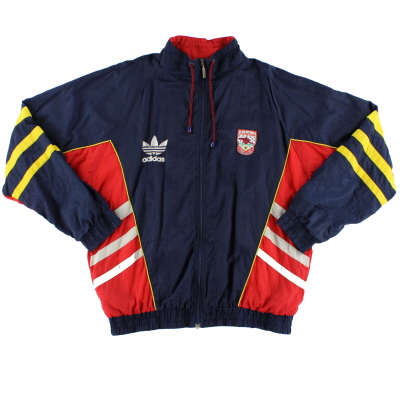 1990-92 Arsenal adidas Windbreaker Jacket L