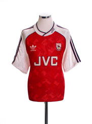 1990-92 Arsenal Home Shirt M