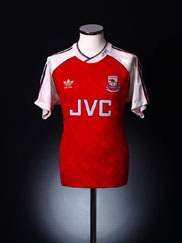 1990-92 Arsenal Home Shirt L