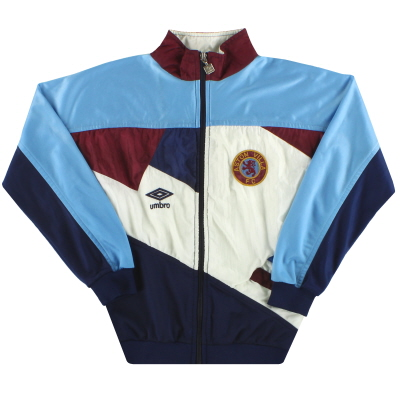 1990-92 Aston Villa Umbro Track Jacket L.Boys