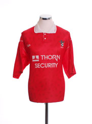 1990-92 Bristol City Home Shirt L.Boys