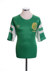 1990-92 Cameroon Home Shirt XL