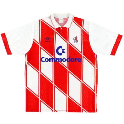 1990-92 Chelsea Umbro Away Shirt S