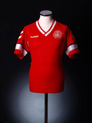 1990-92 Denmark Home Shirt L