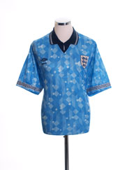 1990-92 England Third Shirt L