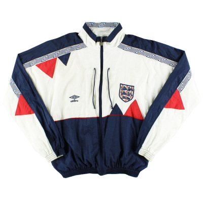 1990-92 England Umbro Shell Jacket M