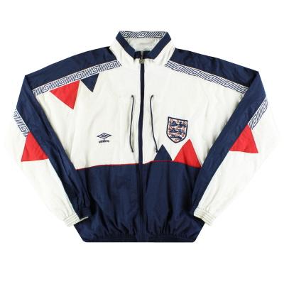 1990-92 England Umbro Shell Jacket M