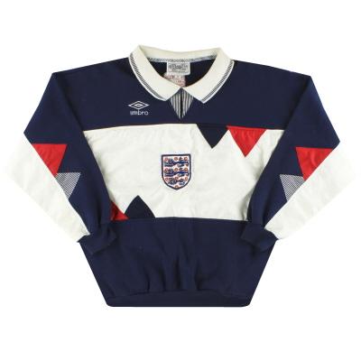 1990-92 England Umbro Sweatshirt Y
