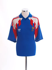 1990-92 France Home Shirt XL