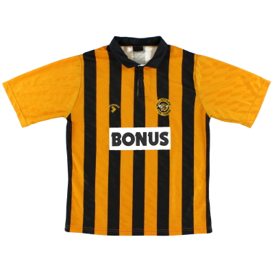 1990-92 Hull City Home Shirt