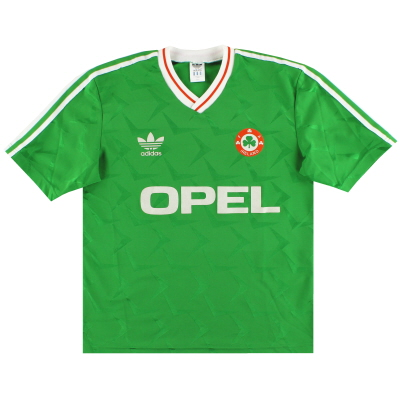 1990-92 Ireland adidas Home Shirt S