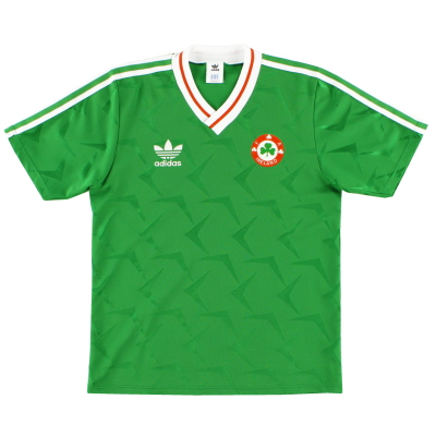 1990-92 Ireland Home Shirt XL