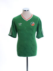 1990-92 Ireland Match Issue Home Shirt #12 L