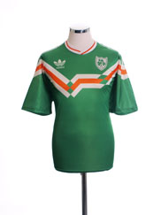 1990-92 Ireland Special Edition Home Shirt XL