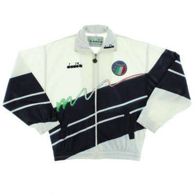 1990-92 Italy Diadora Track Jacket M
