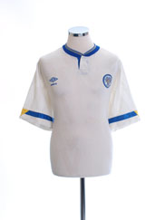 1990-92 Leeds Home Shirt XL