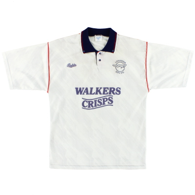1990-92 Leicester Bukta Away Shirt M
