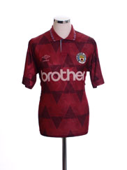 1990-92 Manchester City Away Shirt S